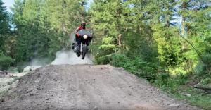 Watch: Amazing footage of Honda Goldwings ridden off road like dirt bikes