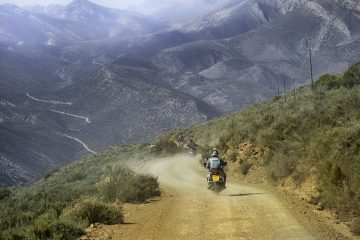 Motorcycle journey in Africa