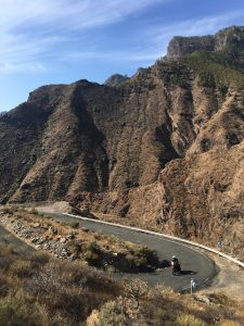 Motorcycle trip to Gran Canaria
