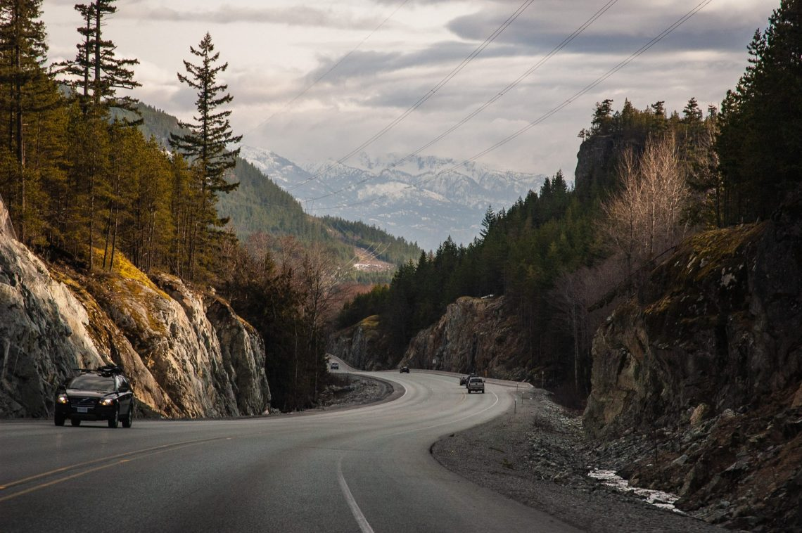 motorcycling in British Columbia