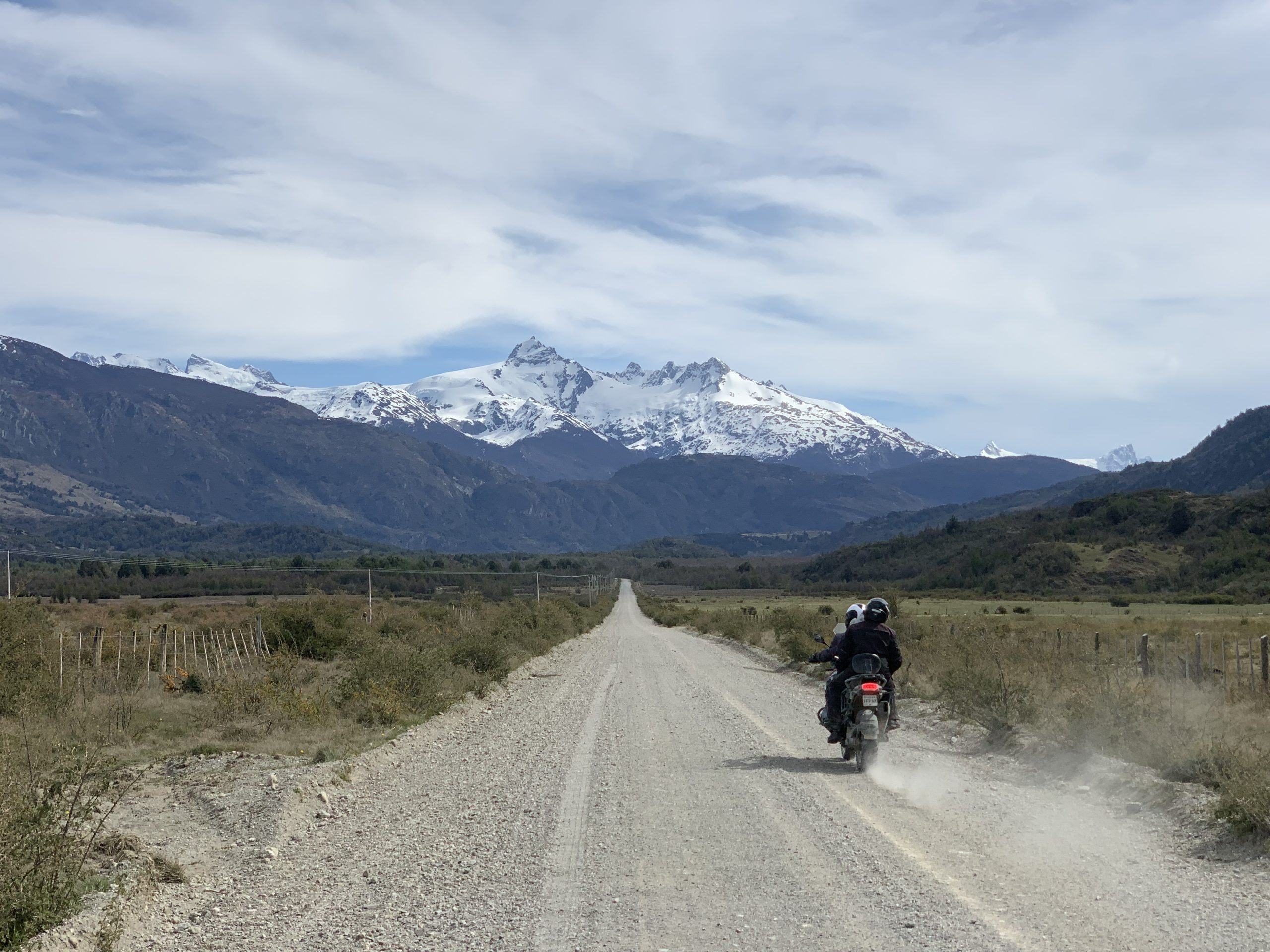 ride a motorcycle in patagonia