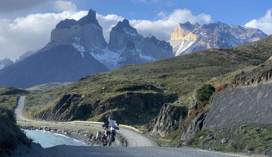 motorcycle trip in patagonia