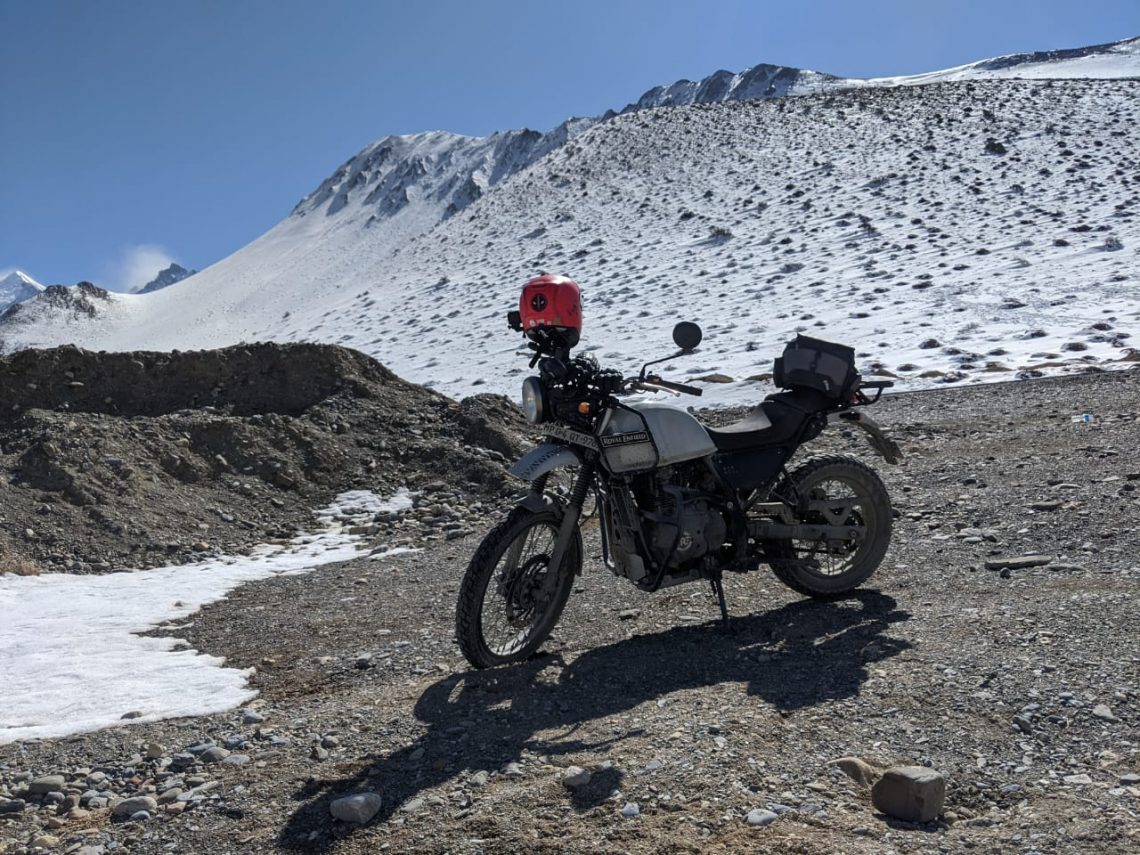 Himalayas by motorcycle