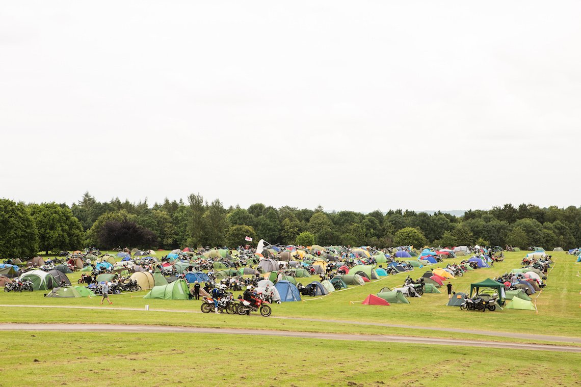 Motorcycle camping at the Adventure Bike Rider Festival 2019