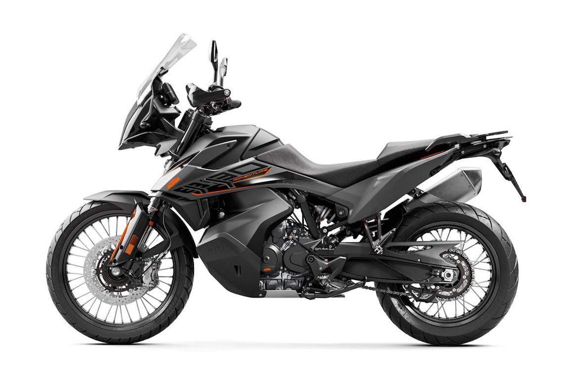 KTM 890 Adventure side on