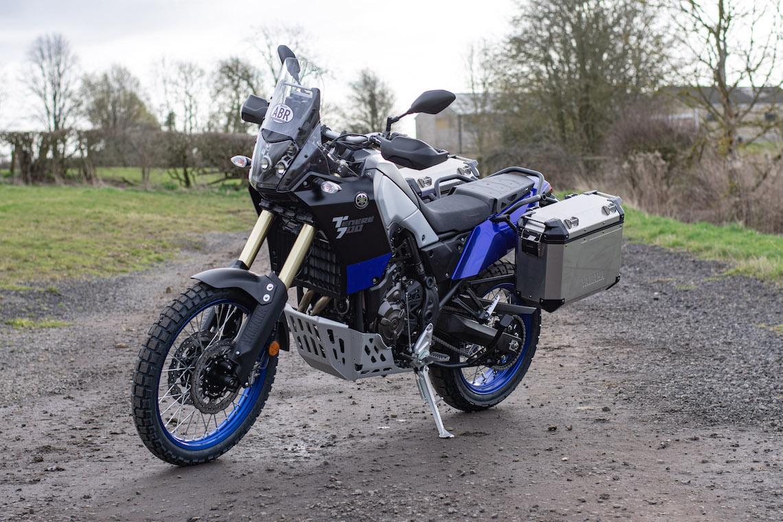 Yamaha ténéré 700 off-road