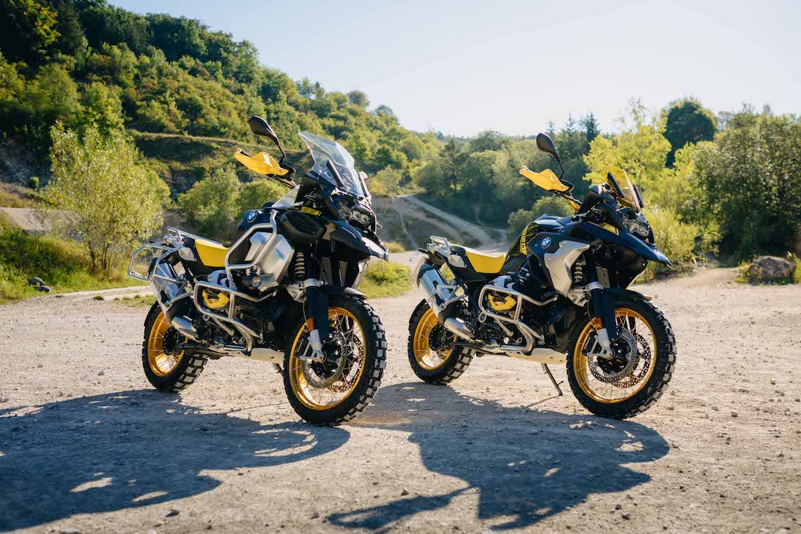 BMW GS R 1250 models