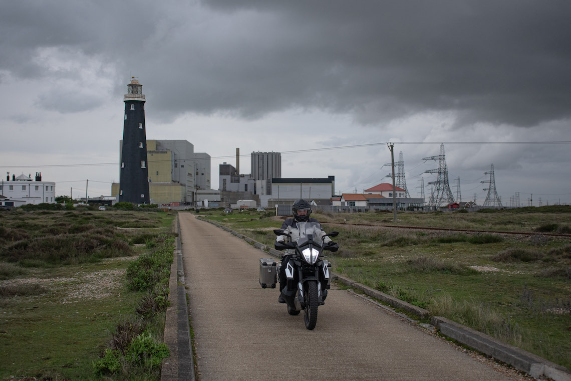 dungeness motorcycle route