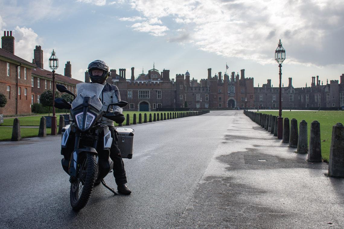 hampton court palace motorcycle