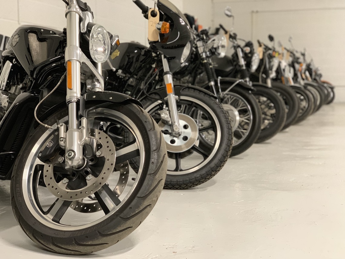 save money on motorcycle insurance with storage
