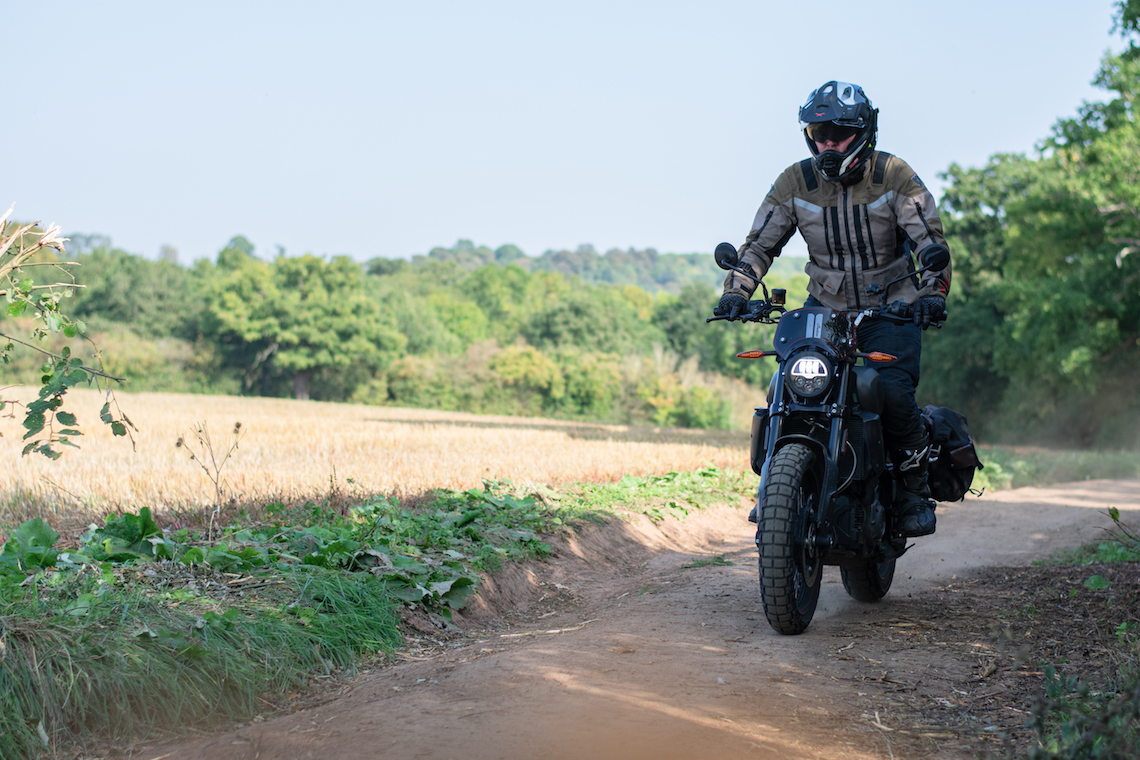 indian FTR Rally off-road