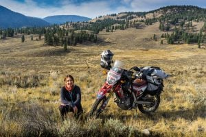 Meet Steph Jeavons: The first woman to ride a motorcycle on all seven continents