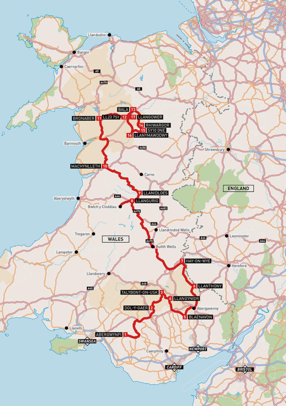 ABR Welsh Super 10 map