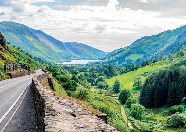the road to lake bala