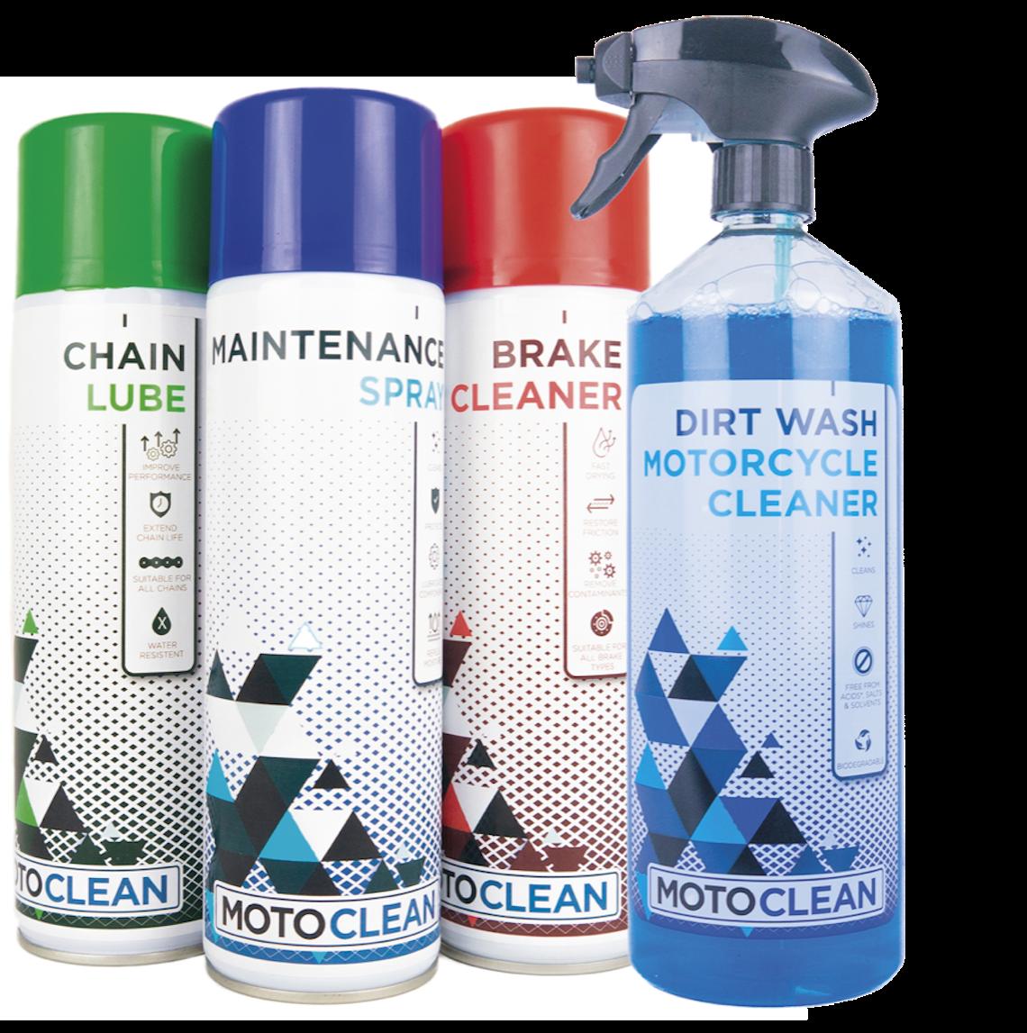 MotoClean Care Bundle