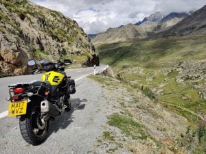 A first overseas solo tour to the Alps