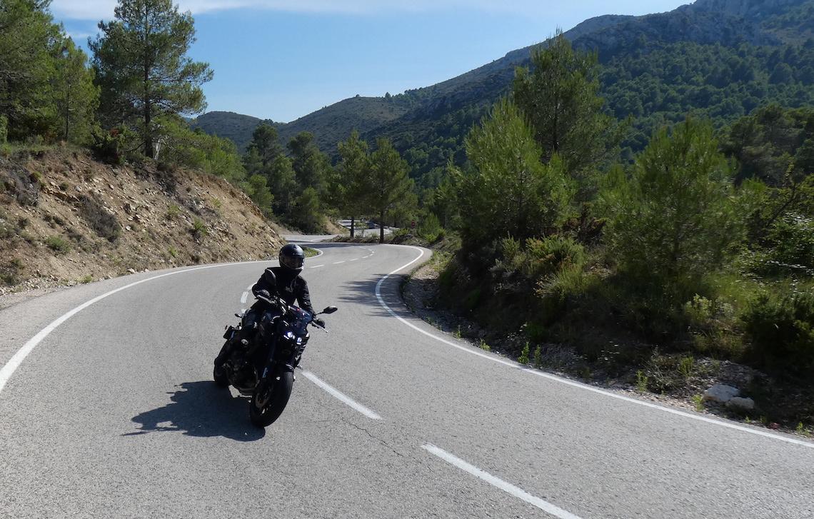 Valencia motorcycling
