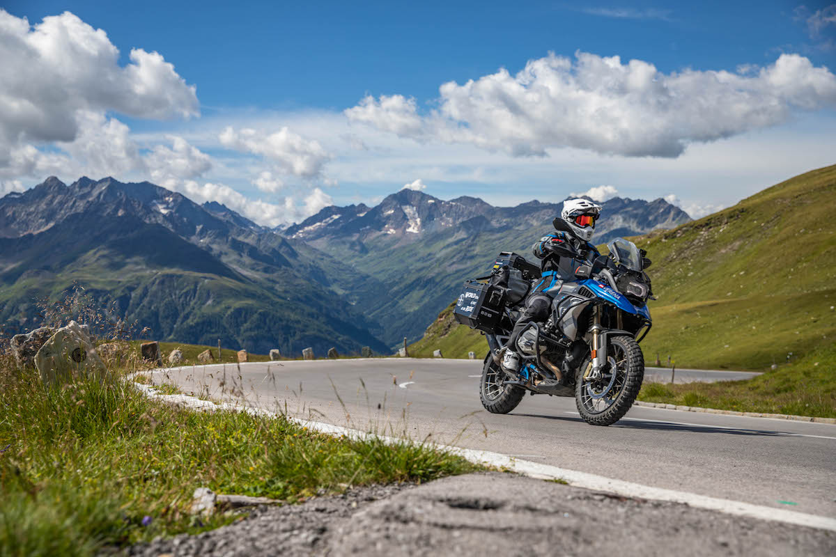 Mountain paradise – a tour of the Alps Martin and Varena travel to the Alps