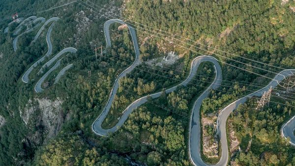 Reason to Ride: Lysevegen Road, Norway With 27 hairpins and an ascent of nearly 1,000m up the wall of a ord, this Norwegian road is one to ride