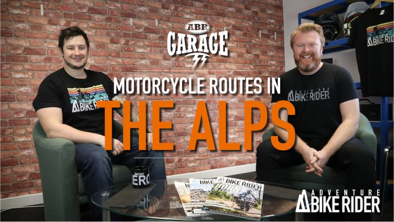 Motorcycle routes in the Alps: ABR Garage Ep 5