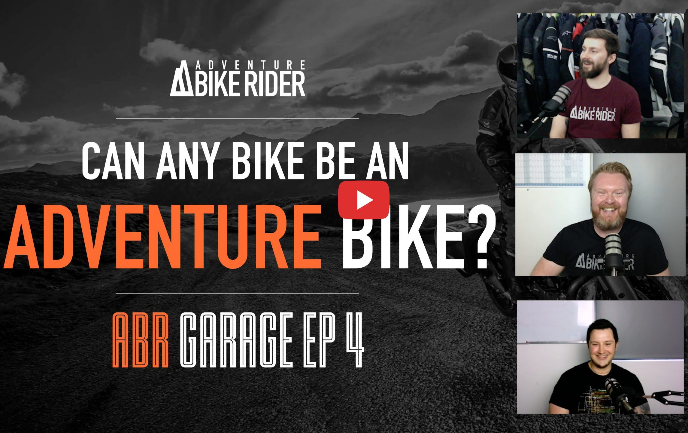 Can any bike be an adventure bike? ABR Garage Ep 4