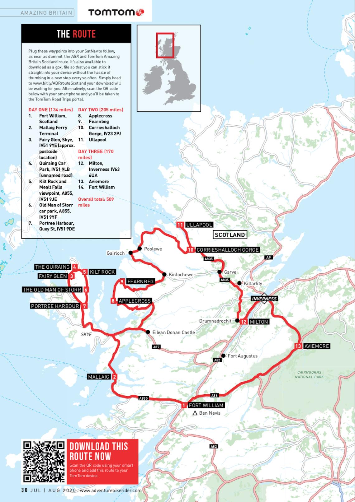 Amazing-Britain-Scotland-Route