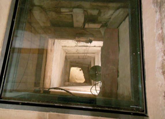 An escape tunnel
