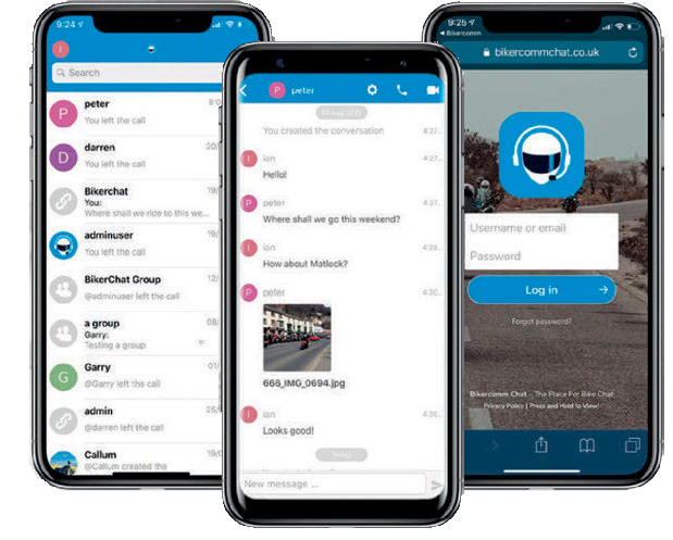 BikerCOMM App