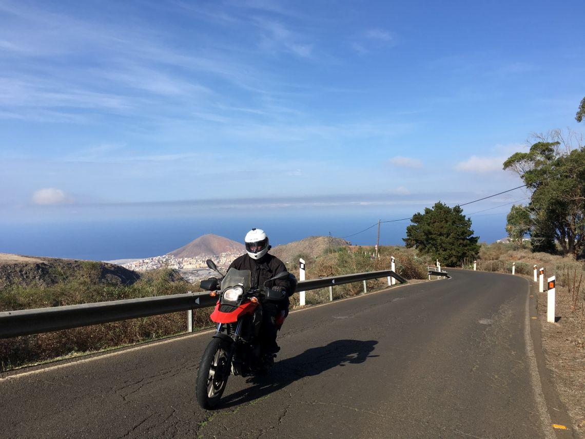 Cruising around the coast
