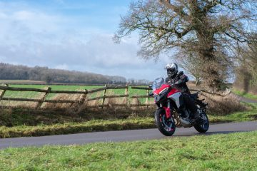 multistrada v4 s road riding