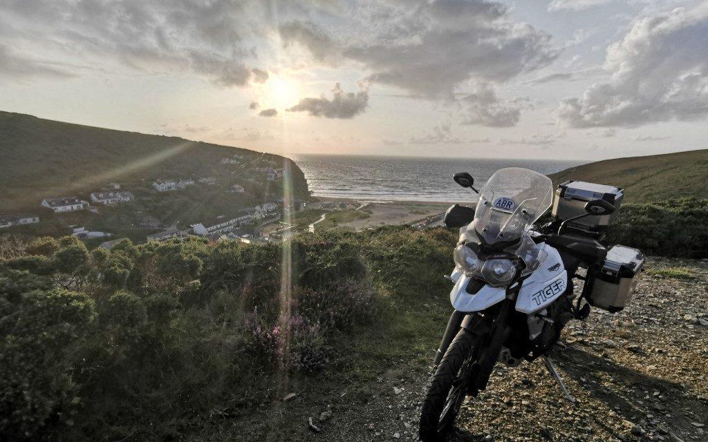 weekend motorcycle rides cornwall