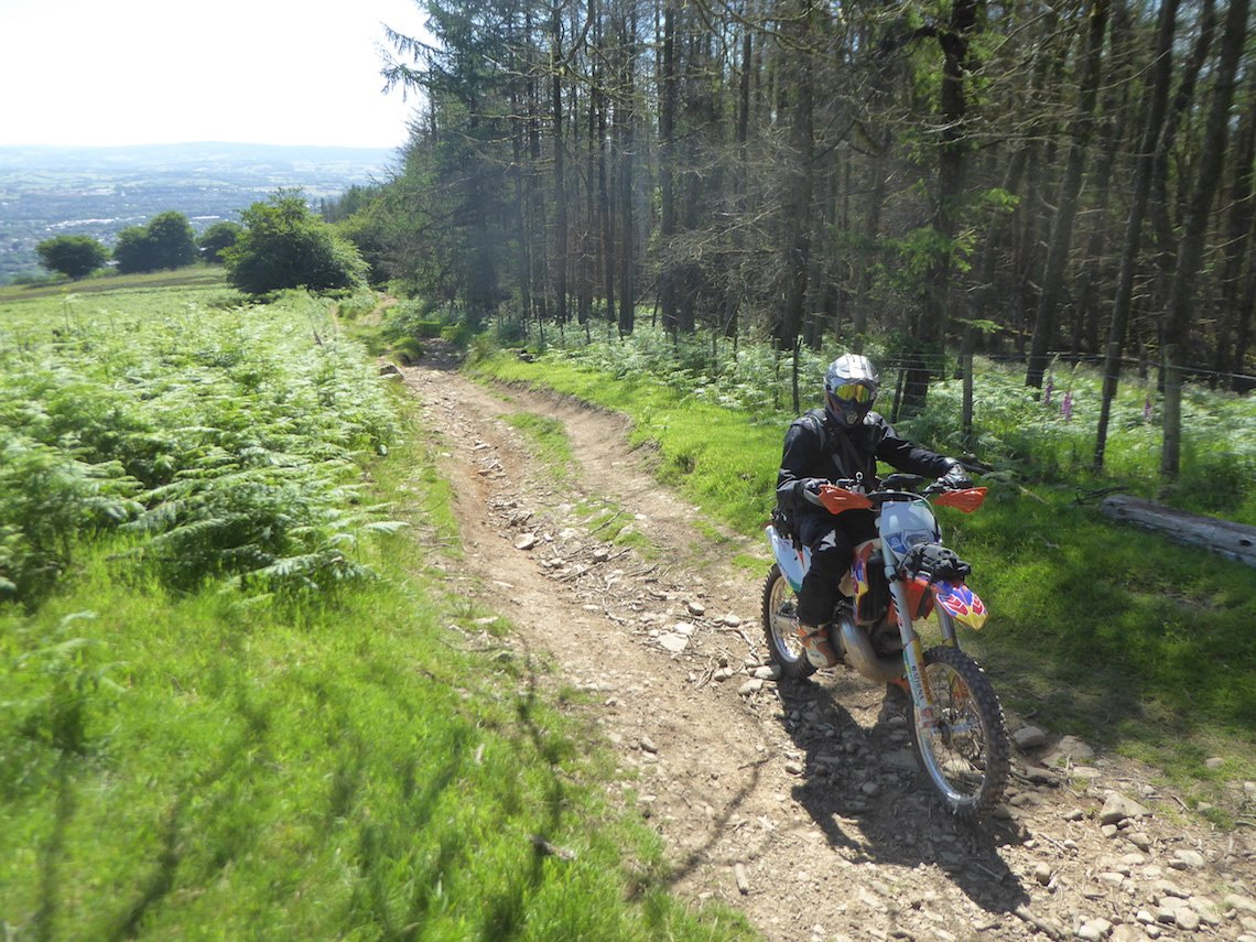 Julian-heads-up-into-the-Welsh-mountains