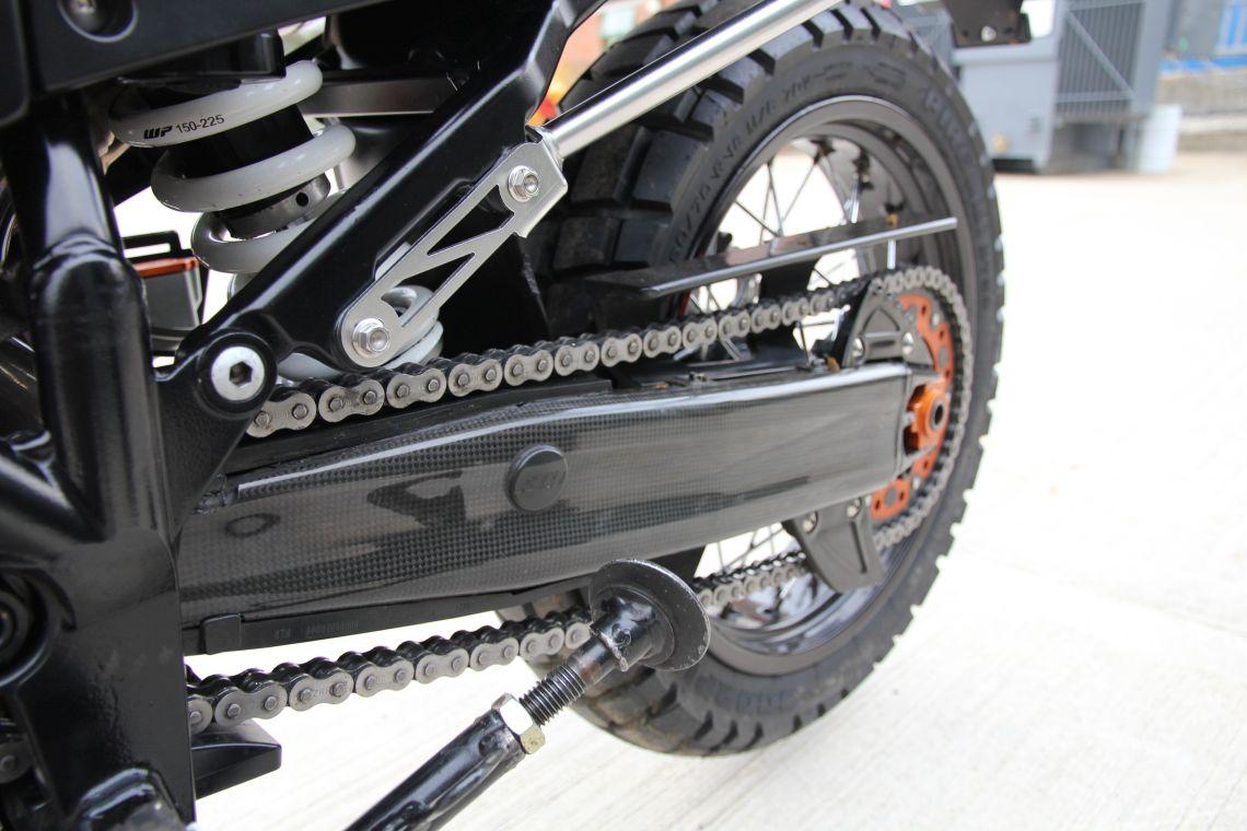 KTM 990 Rear setup