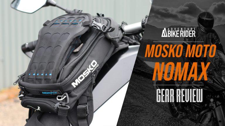 Mosko Moto Nomax motorcycle tank bag