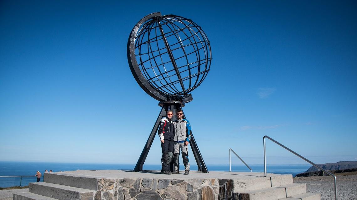 Nordkap-Globe