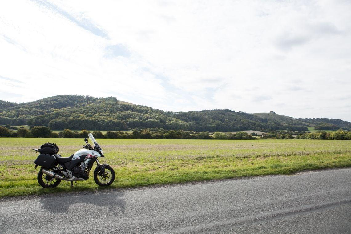 Pleasant rolling hills