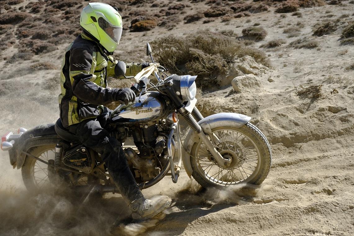 Ramu fights the dust