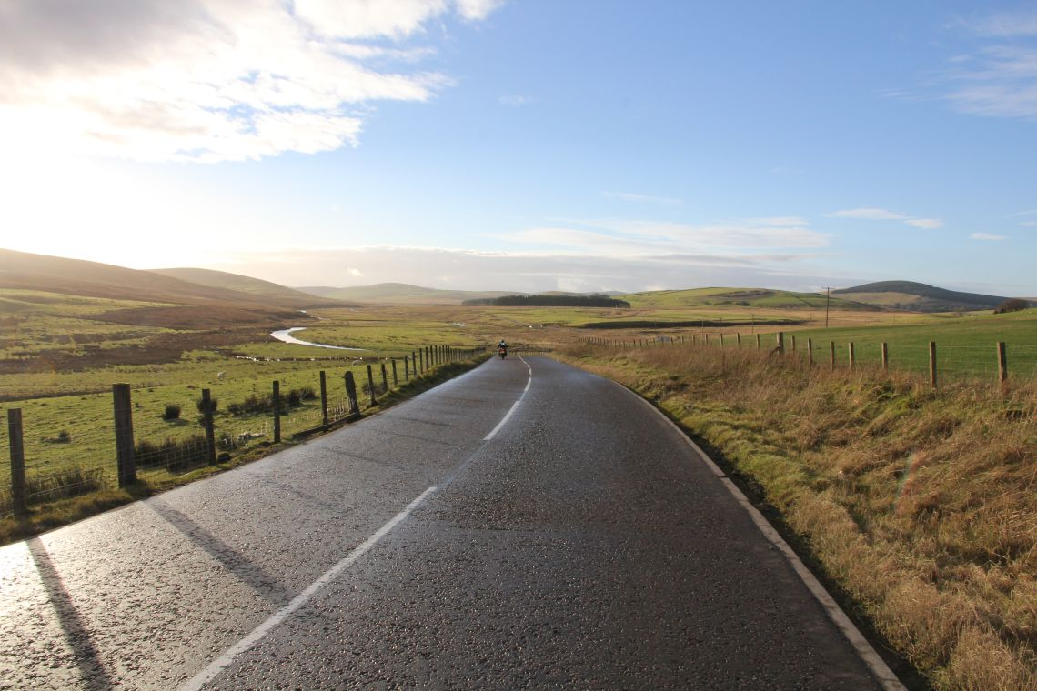 Roads through remote valleys