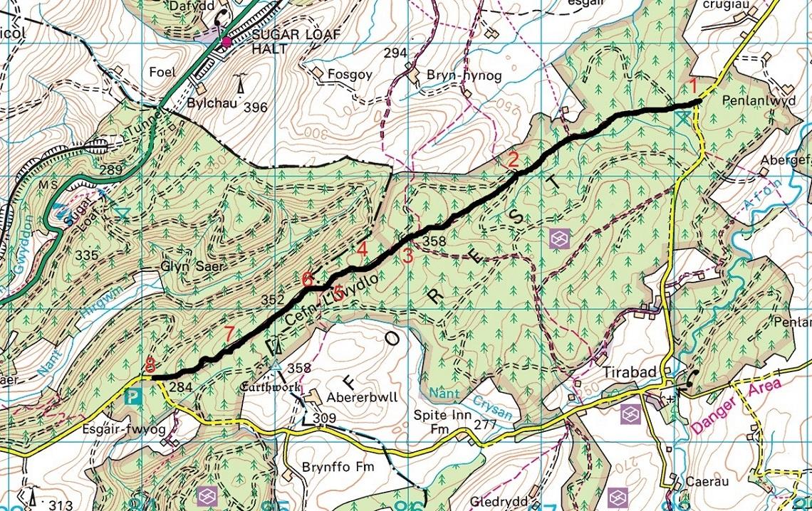 SunkenLane_Route