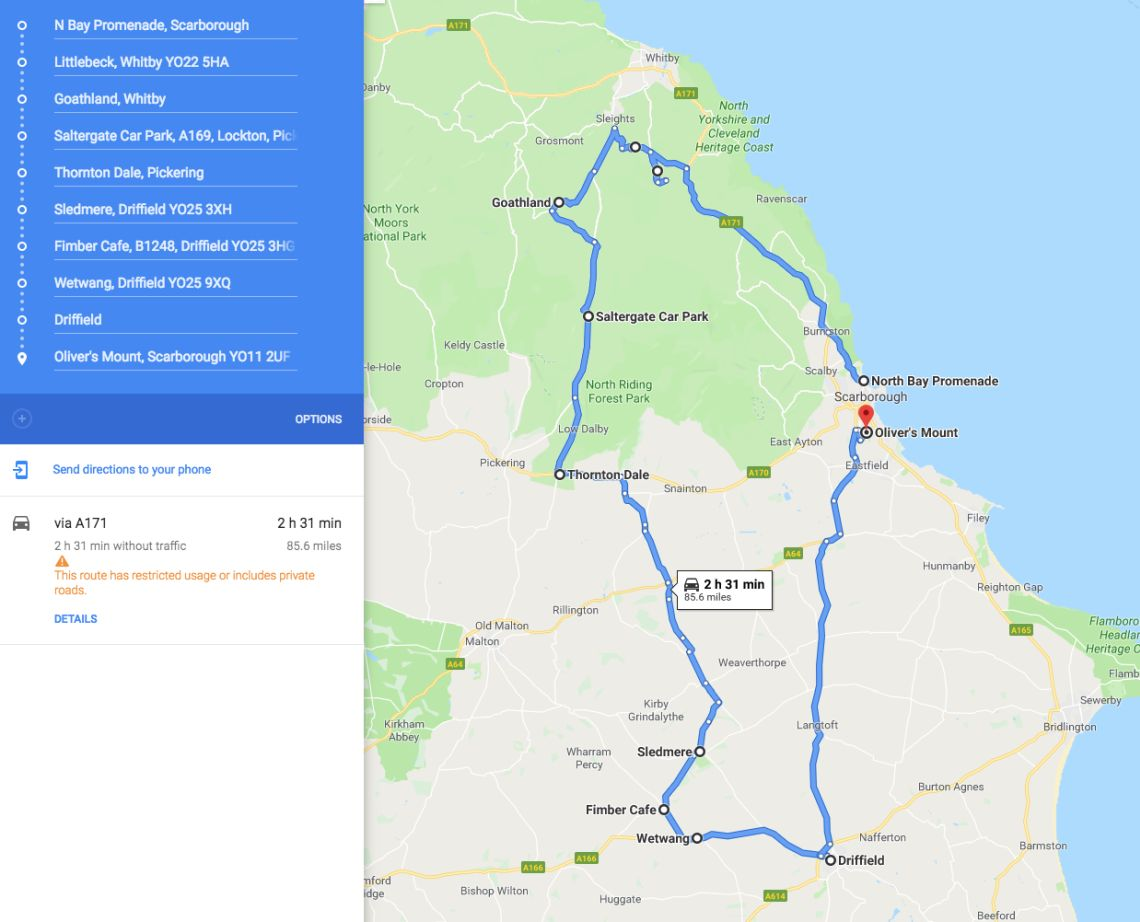 The Route Map