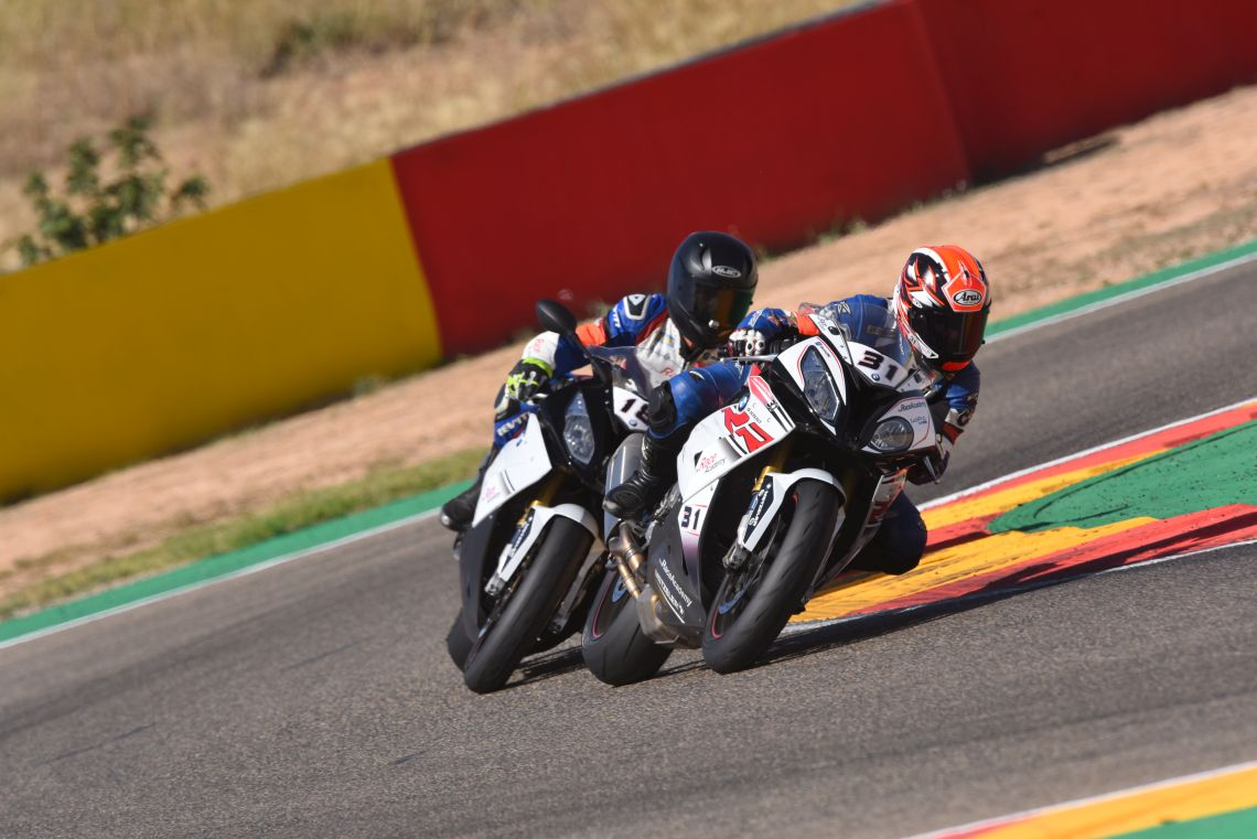 Track time in motorland Aragon