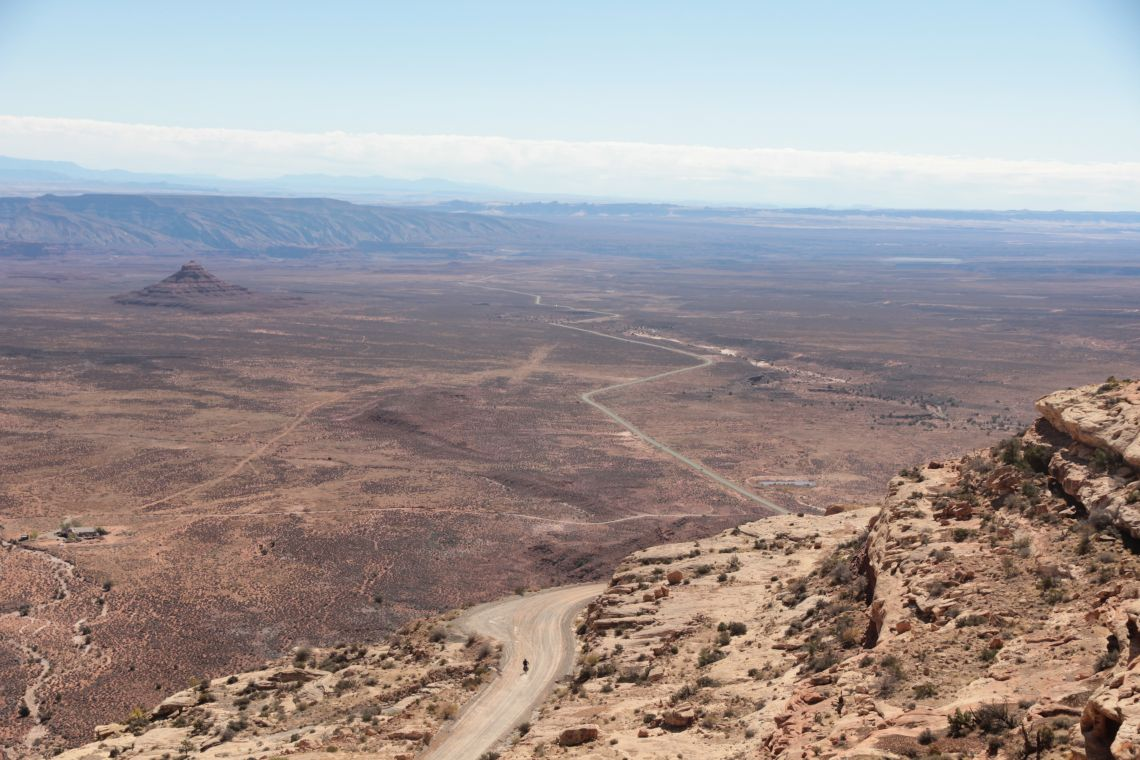 Views from the Moki Dugway