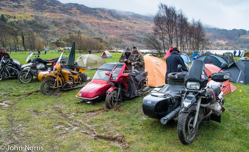 perhaps a sidecar outfit was a sensible choice