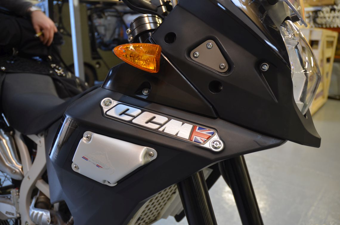 fit and finish of production bike is good