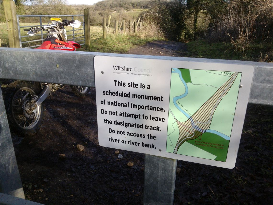 15 Motorbikes allowed and everyone matters [fine print] on the Fosse