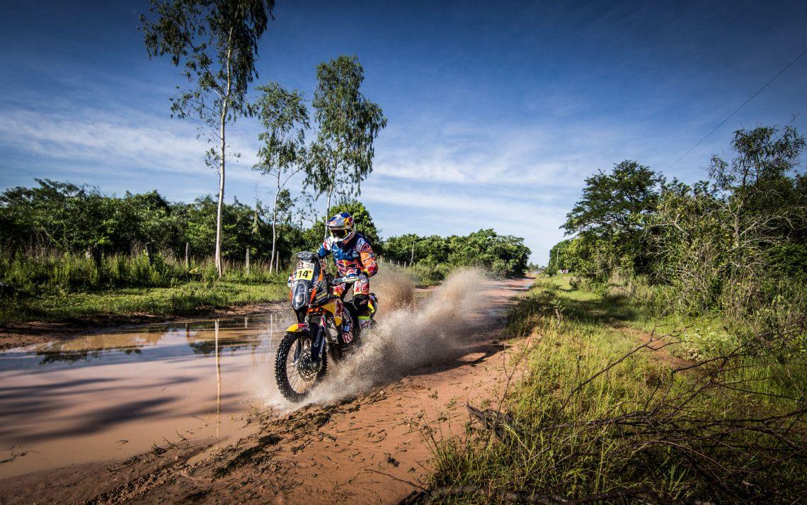164661_Sam Sunderland KTM 450 RALLY Dakar 2017