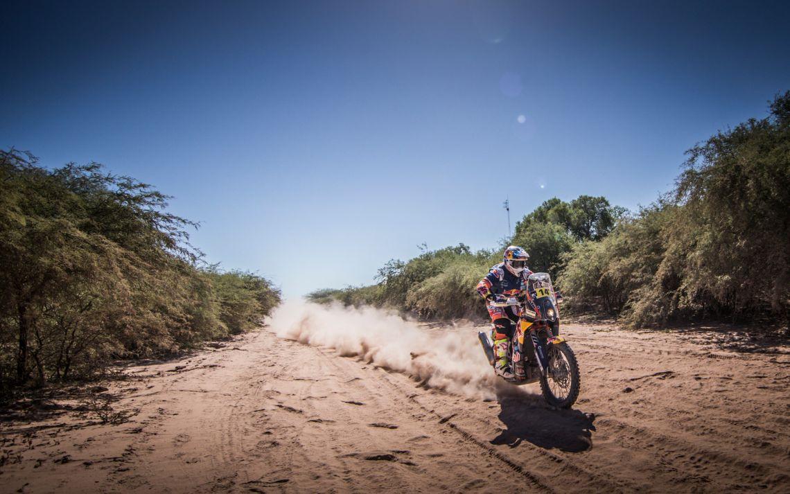 164662_Sam Sunderland KTM 450 RALLY Dakar 2017