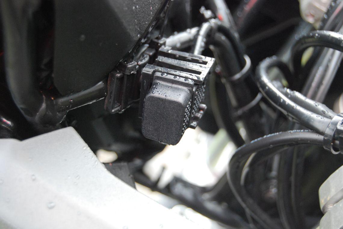 Aftermarket USB port