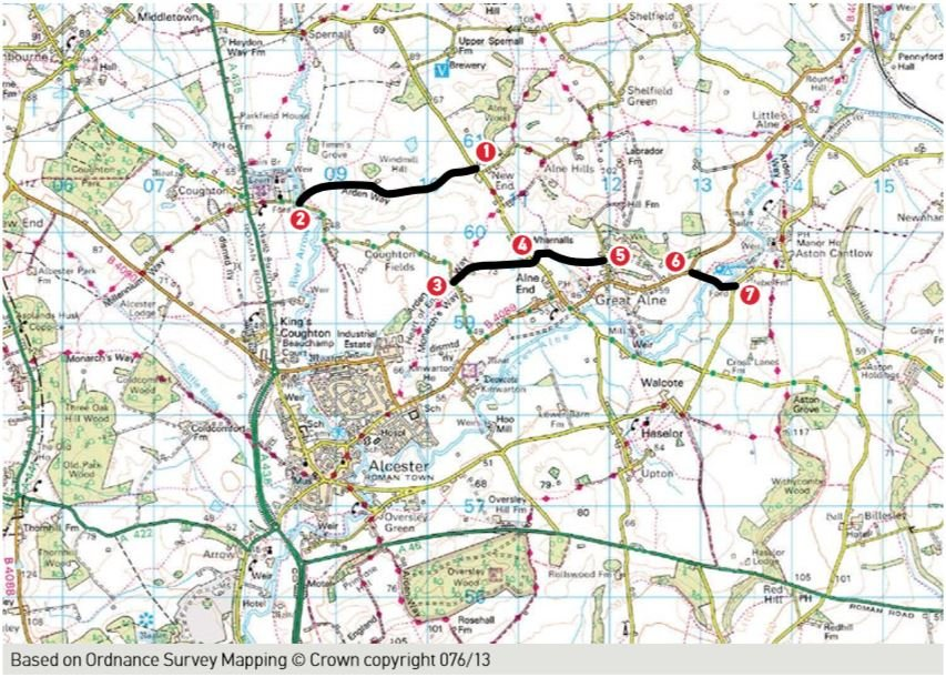 Alcester Map
