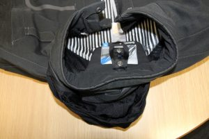 BMW Hood in collar